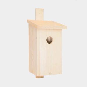 budka lęgowa dla ptaków Skrzynka lęgowa z drewna konstrukcja B
