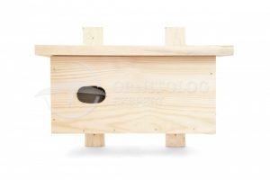 budka lęgowa dla jerzyka budka z drewna