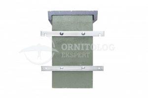 duża budka lęgowa z betonu trocinobetonu mocowanie do ściany