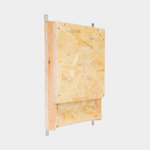 drewniana budka dla nietoperza schron dla nietoperzy podtynkowy