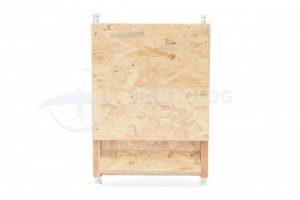 budka dla nietoperzy z płyty wiórowej i drewna