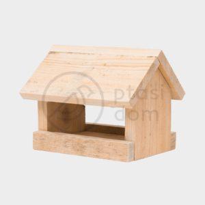 Karmnik dla ptaków drewniany domek dla ptaków karmnik