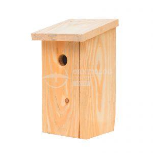 drewniany domek dla ptaków do samodzielnego montażu