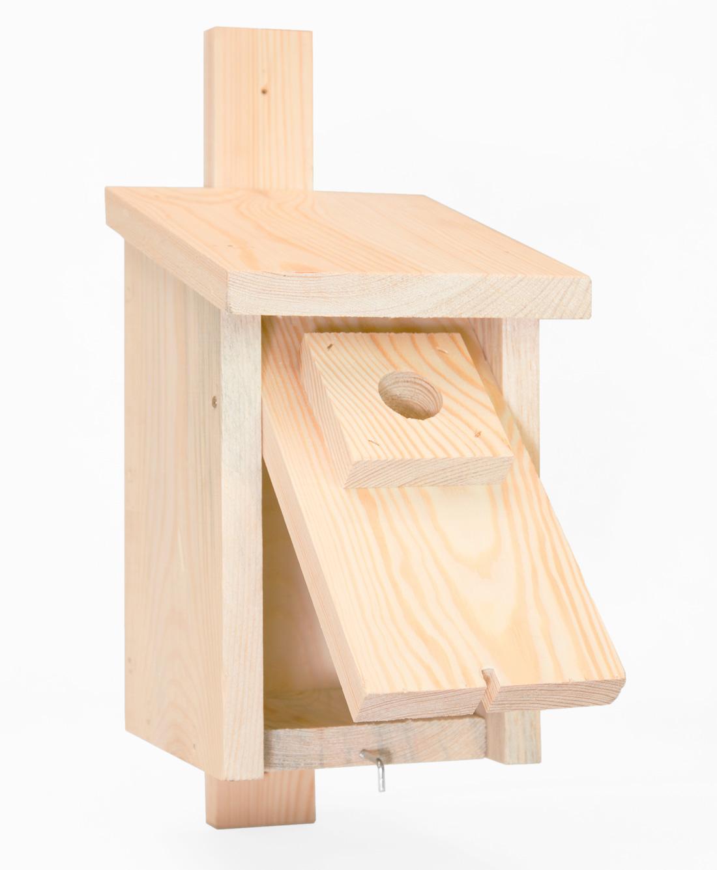 Skrzynka lęgowa dla ptaków do ogrodu