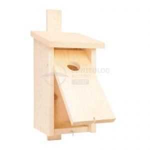 budka drewniana dla ptaków budka dla wróbla do montażu