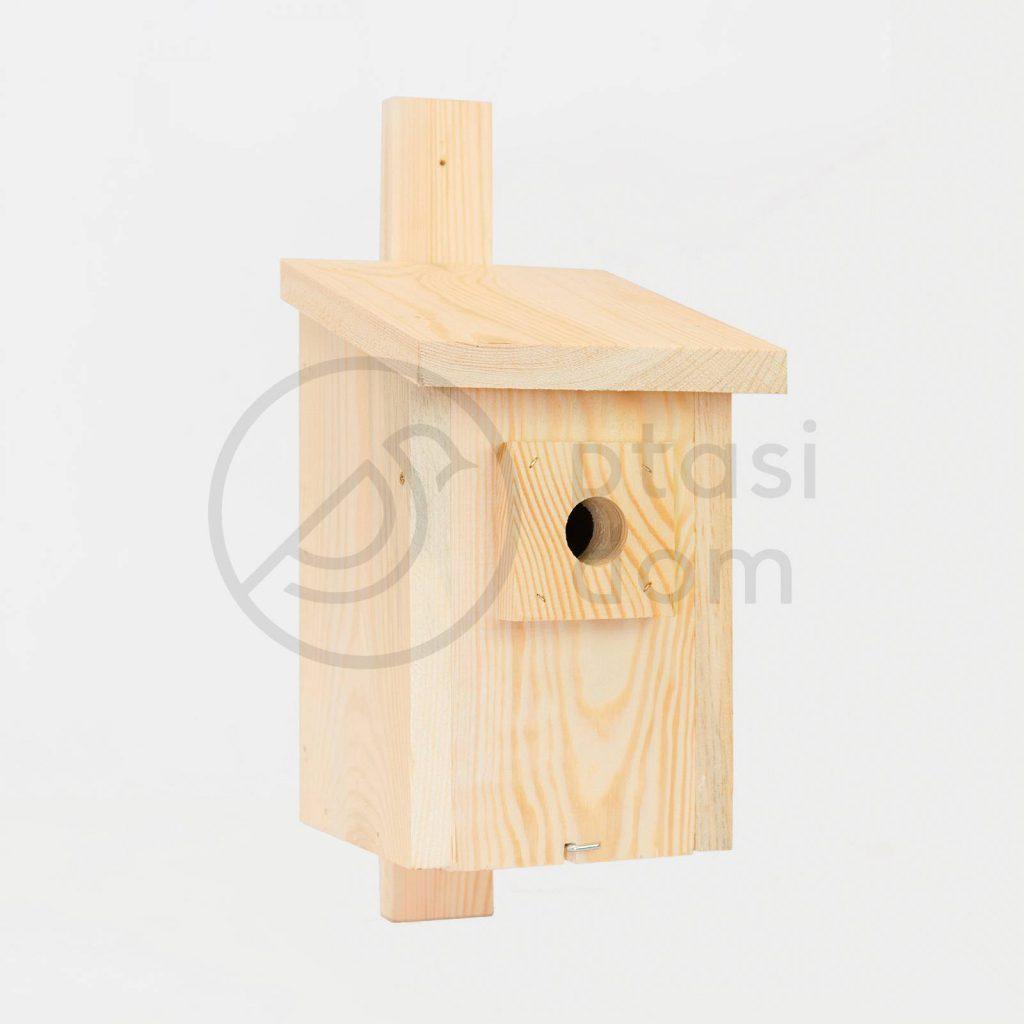 budka lęgowa dla sikorki - domek dla ptaków
