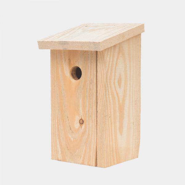 domek dla ptaków, budka lęgowa do samodzielnego montażu