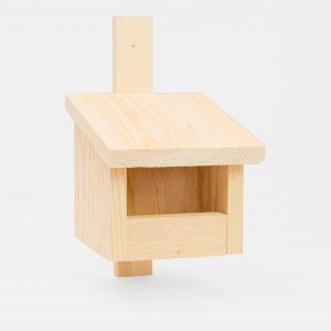 domek dla ptaków budka drewniana dla ptaków